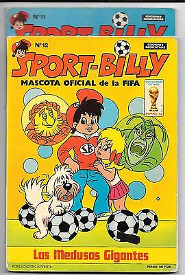SPORT-BILLY Numero 11 y 12 Lote Ed. Recreativas FIFA 1981 Mundial 82