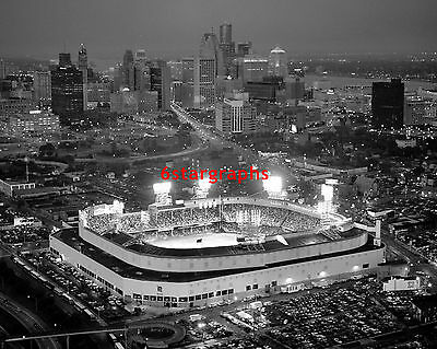 TIGER STADIUM - 16x20 Photo - Old DETROIT BASEBALL HOME - VINTAGE PICTURE PRINT