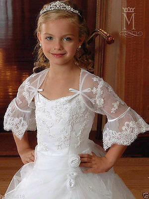 Bridesmaid Communion Pageant Party Princess Ballgown Wedding Flower Girls Dress