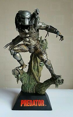 Predator Sideshow Diorama Statue. Very Rare. Not Marvel/DC/Bust/Aliens