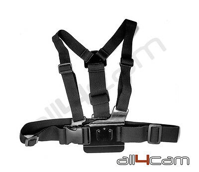 Chest Mount Harness Adjustable fits GoPro HD HERO5 HERO 5 6 Camera Accessories