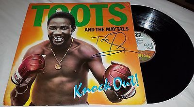 Toots Frederick Hibbert Signed Vinyl Record And The Maytals Knock Out!  +Coa