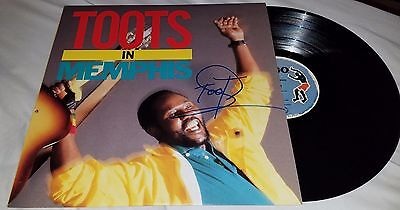 Toots Frederick Hibbert Signed Vinyl Record And The Maytals In Memphis  +Coa
