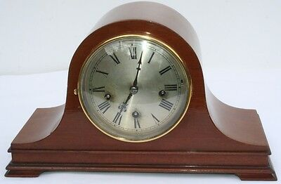 German Small Napoleon Hat Westminster Mantle Clock 1920S Watch Video