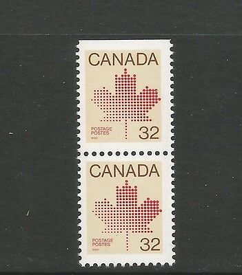 BOOKLET PAIR   STYLIZED MAPLE LEAF  # 924bisi/ 924bis  TOP