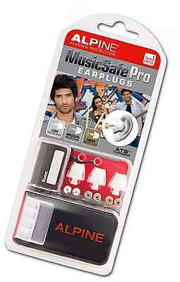 Alpine MusicSafe Pro Filter Ear Plugs for Musicians - White