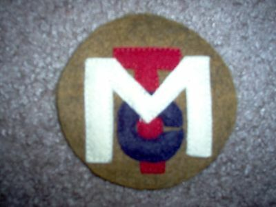 WWI US Army MTC Motor Transport Corps Patch  AEF