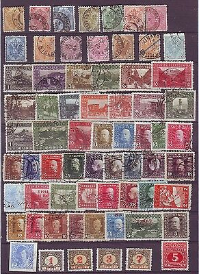 BOSNIA and HERZOGOVINA 1879 - 1918 USED collection, LOOK!!!!!!!!!!!