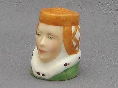 Francesca Character Head Thimble - Juliet, Literary Collection