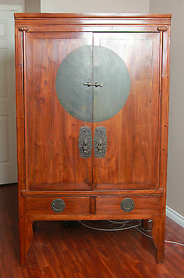 chinese antique wedding cabinet