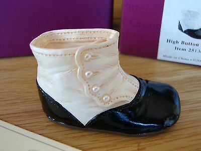 Just The Right Shoe - High Button Baby, #25130, Raine Drops Range