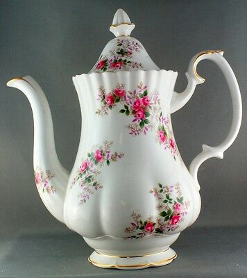 Royal Albert Lavender Rose Coffee Pot