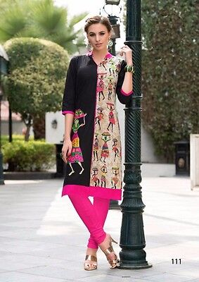 New Printed Kurta Kurti Top