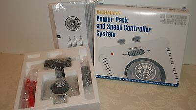 BACHMANN #44212 POWER PACK & SPEED CONTROLLER DC System Trains N HO On30 SCALE