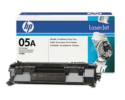 12 Virgin Used Empty Genuine HP 05A Laser Cartridges CE505A
