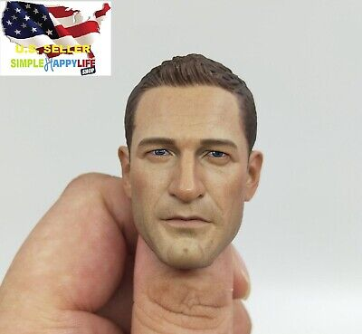 "1//6 man head sculpt for 12/"" figure army soldier F beard Ganghood hot toys ❶USA❶"