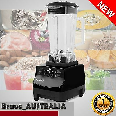 NEW 2L 2300W Commercial Blender - Mixer Juicer Food Processor Smoothie Ice Crush
