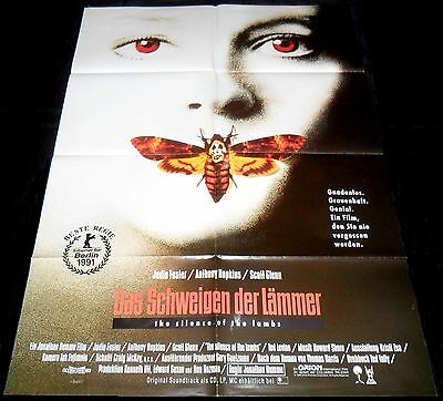 1991 The Silence of the Lambs ORIGINAL German 1sh A1 POSTER Anthony Hopkins