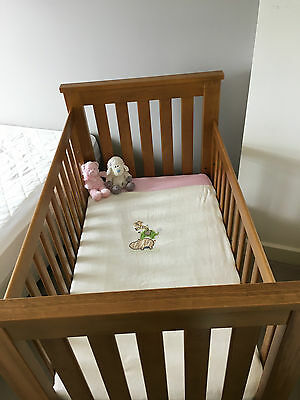 Boori Pioneer Cot and mattress