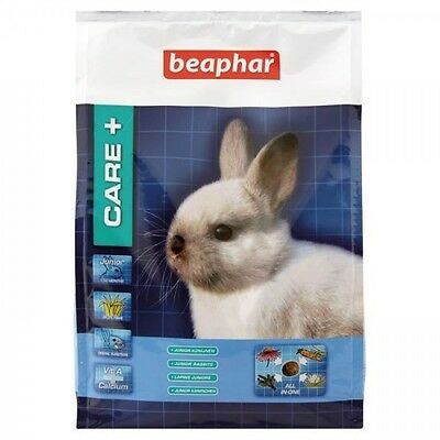 BEAPHAR Care+ Alimentation premium - Pour lapin junior