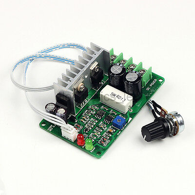 DC10-40V 15A PWM Motor Speed Controller Overcurrent Protector Adjustable Current