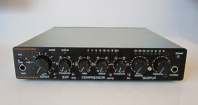 Safe Sound Audio Tracking Toolbox, Channel Strip, Mic amp, compressor, expander