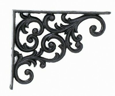 Home decor Upper Deck 2 Brackets Shelf 9.375-Inch Deep Rustic Antique Finish