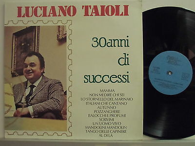 LUCIANO TAJOLI disco LP 33 giri 30 ANNI DI SUCCESSI Made in Italy 1980