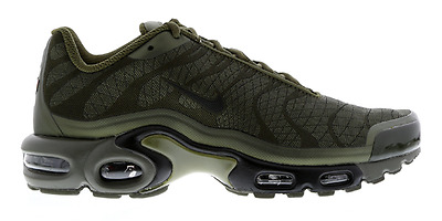 aeb176b383 Nike Air Max Plus Tuned Jaquard Olive Green Brand New 845006-200 UK Size 6