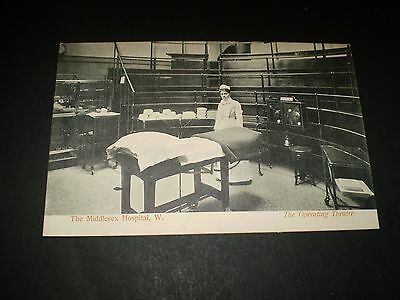social history the middlesex hospital operating theatre postcard