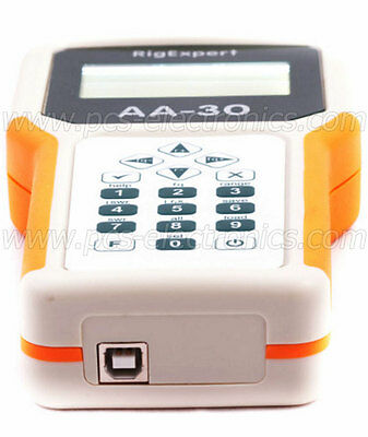 RigExpert AA-30 antenna analyzer, fast delivery, 3 years warranty, VAT invoice
