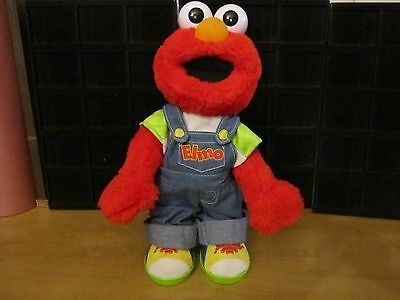 """Sesame Street """"LET'S PRETEND ELMO"""" Used Electronic Doll --Good Condition"""
