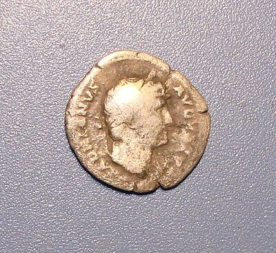 Ancient Denarius. Silver. Original. Rare.