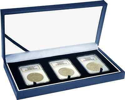 Guardhouse 3 Certified Coin Leatherette Display Slab Box Case Graded Currency US