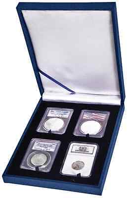 Guardhouse 4 Certified Coin Display Slab Box Show Gift Case Graded Collection US