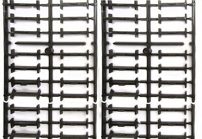 Piko 4 Set Track brackets with 56 Pieces, for Straight Tracks the trace