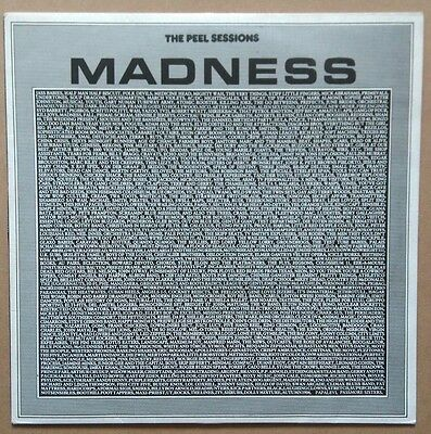 """Madness the Peel Sessions 12"""" four tack single vinyl"""