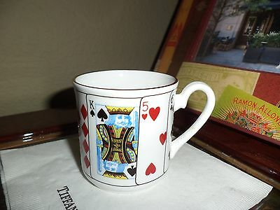1 Tiffany & Co. China Cup Elizabethan Fine Bone China Vintage England King Queen