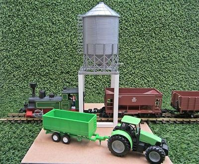 NewRay Silo for over Tracks, G Scale Garden railway and Spur1