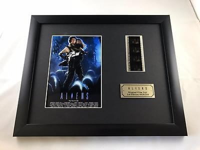 "ALIENS LTD EDITION 10"" X 8"" GENUINE 35MM FILM CELL with C.O.A."