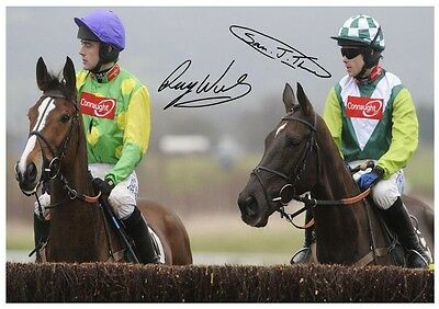 75 #  Kauto Star And Denman  Signed  A4 Photograph Reprint#