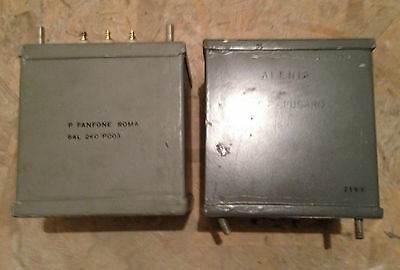 Potted Choke Inductor Transformer Tube Valve HAM Transmitter Pair