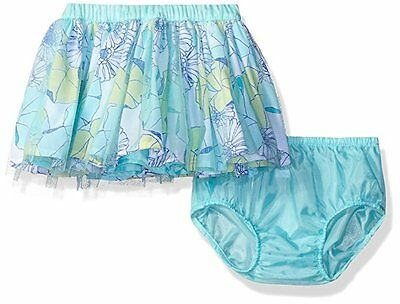 NWT Gymboree TIDE POOL Toddler Girl Aqua Floral Mesh Tulle Tutu Skirt Size 3T 5T
