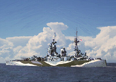 Hms Rodney - Hand Finished, Limited Edition (25)