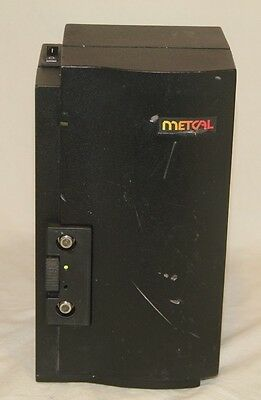 Metcal MX-500P-11 2-Port SmartHeat Soldering Rework Power Supply Cleaned & Works