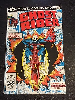 Ghost Rider#67 Incredible Condition 9.0 (1982) Cool!!