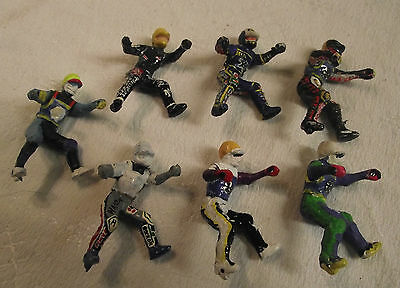 Britains Speedway Collection Of Paint Conversions Riders  1.32  No Motorcycles
