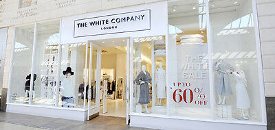 THE WHITE COMPANY 20% off voucher x 2 plus no charge for delivery