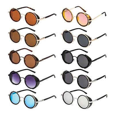 New Steampunk Sunglasses 50's Retro Vintage Style Blinders Goggles Rave Cyber