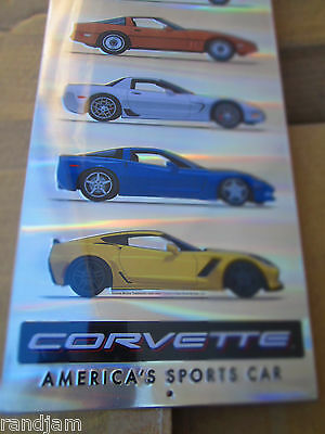 CORVETTE AMERICAS SPORTS CAR  METAL EMBOSSED DISPLAY COOL GM Chevy Chevrolet